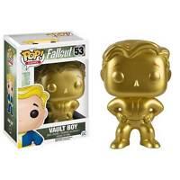 Fallout - Vault Boy (Gold) US Exclusive Pop! Vinyl Figure NEW Funko