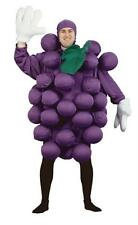 ADULT PURPLE GRAPES FRUIT HEALTHY SNACK FOOD COSTUME PA9500