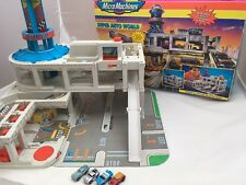 Micro Machines Super Auto World PlaySet Boxed and Vehicles Vintage Retro 90's