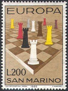 San Marino 1965 Europa/Chess/Board Games/Sports/Pieces/Rook 1v (n41957)