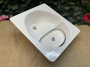 The Original Fibreglass Rectangular Urine Separator/Diverter for Compost Toilets