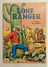 Lone Ranger #22 ! DELL 1950 ! EARLY ISSUE ! NICE PAGES except...   hayfamzone