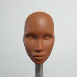 1/6 Doll Head OOAK Face Model Without Hair Unpainted Face