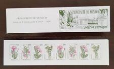 MONACO Yvert carnet n° 9 émis en 1993 de 8 timbres neufs**Flore, cactées, fleurs