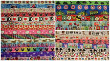 GROSGRAIN RIBBON Offcuts Assorted Bundles Mixed Lots for Crafts Scrapbooking Bow