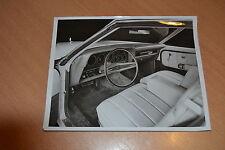 PHOTO DE PRESSE ( PRESS PHOTO ) Ford Torino tableau de bord de 1974 GM014