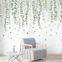 Tropical leaves plants Decal Art Mural Gift Home Family Kids DIY Wal
