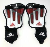 Adidas Soccer Team Bioplate Shin/Ankle Guards Black/White/Red (657146) XS-XL