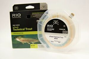 RIO Products - InTouch Technical Trout WF-4-F Fly Line - **SHIPS FOR FREE**