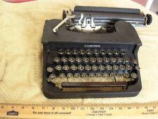 1940 Rare Corona Comet Typewriter