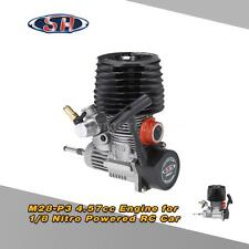 SH RC Engine M28-P3 4.57cc 2-stroke Pull Start for 1/8 Nitro HSP Truggy RC Car