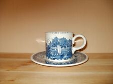 Villeroy & Boch Blue Castle Kaffeetasse mit Untertasse gebraucht
