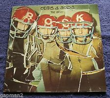 The Who 1974 Track LP Odds and Sods Postcard Long Live Rock I'm The Face MOD