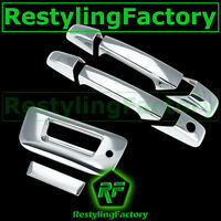 07-13 Chevy Silverado Chrome 2 Door Handle+Tailgate w Keyhole no Camera Cover