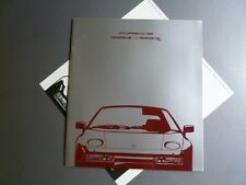 1990 Porsche 928 S4 928 GT DELUXE Showroom Advertising Sales Brochure RARE! L@@K