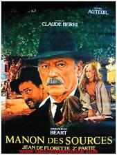MANON DES SOURCES JEAN DE FLORETTE Affiche Cinéma / Movie Poster BEART MONTAND
