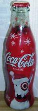 2004 Santa Target Dog Christmas Wrapped Coca-Cola Coke Bottle