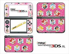 SKIN DECAL STICKER - NINTENDO NEW 3DS XL - REF 111 PRINCESS DISNEY