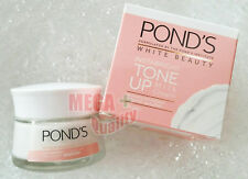 Pond s White Beauty Instabright Tone Up Milk Cream Whitening Vitamin B3 50 G.