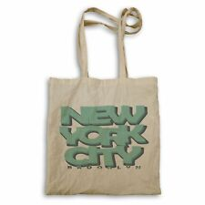 New York City Brooklin in Blue Tote bag ff774r