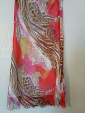 Colourful skirt size 14