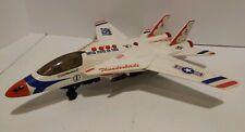 Original 1996 Thunderbirds Jet Plane VINTAGE Electronic Toy w/ Retractable Wings