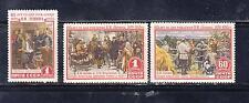 Russia 1955 Mi.#11756-58 85 anniversary of V.I. Lenin set  3 stamps Cat Eu 12.00