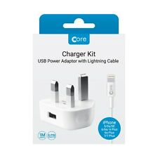 Core Charger Kit for iPhone White