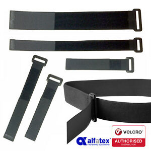 Alfatex® by Velcro Companies Hook & Loop Ring Straps, Cable Ties with Buckle