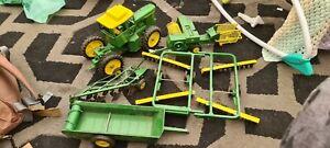 Ertl John Deere Tractor And Implements Job Lot Die Cast Models 1:16?