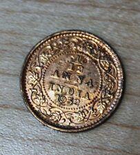 1932 India 1/12 Anna