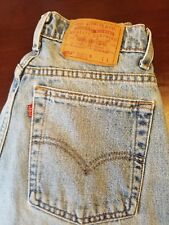Vintage 90s USA Made LEVIs 550 Relaxed Tapered Leg Mom Jeans 30 x 33 (10 Reg L)