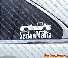 Lowered SEDAN MAFIA car sticker - for Volvo 850 T5 Sedan