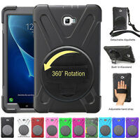 """For Samsung Galaxy Tab A 10.1"""" inch T580 Rotating Stand Shockproof Case Cover"""