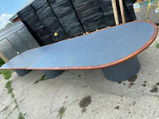 Large Oval Conference Table 20 X 48 Seats Up To 18