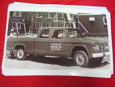 1965 DODGE  CREW CAB 4DR PICKUP   BIG 11 X 17  PHOTO /  PICTURE