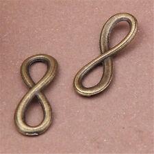 20pc rétro Charme perles connecteur bronze accessoires PL600