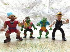 Tmnt Action Figure Lot Stone Protectors Dick Tracy