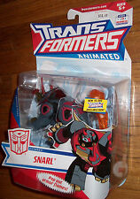 EXPERTLY PACKED - TRANSFORMERS ANIMATED SNARL - MIB  MOC SEALED