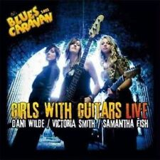 Girls With Guitars Live by Dani Wilde and Samantha Fish Audio CD DVD 2012
