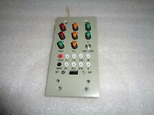 Cool Vintage Panel With Amber Green Red Indicator Lamp Bulbs Other Components