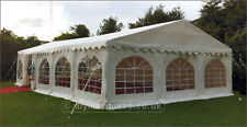 Very Heavy Duty 6x12m Deluxe DIY Marquee 650gsm PVC (approx 20ft x 40ft)