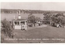 Postcard ME North Edgecomb Fort Edgecomb Lobster Pound Picnic Grounds RPPC ME4