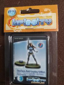 Corvus Belli Infinity Neoterra Bolt Cosplay Edition Limited Edition NIB