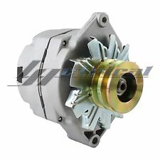 NEW ALTERNATOR FOR TRACTOR CASE CHEVY 10SI ONE 1 WIRE WITH 2 GROOVE PULLEY 65Amp