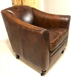 Vintage Sessel Leder