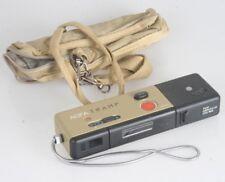 Agfa Tramp sensor mit 901 mini Flash + beige-farbene Tasche & Kette (von ca.1982