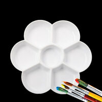 Paint Tray Plastic Mixing Color Paint Tray Drawing Art Oil Watercolor Palette