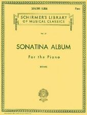 Sonatina Album for the Piano : Favorite Sonatinas, Rondos and Pieces [Schirmer ]