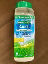 New Unopened Hidden Valley Ranch Salad Dressing Dip Seasoning 20 oz Large Size